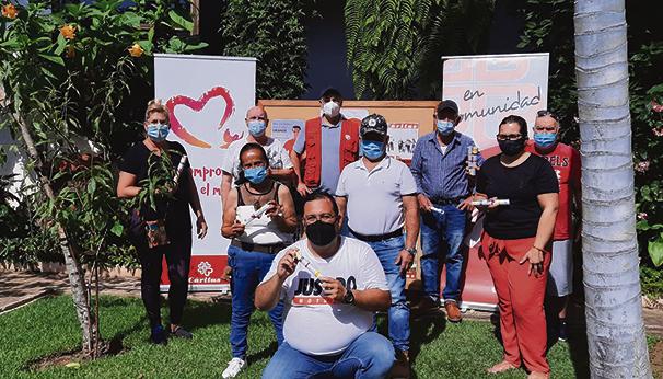 Überreichung der Urkunden des Fortbildungskurses in Los Realejos. Foto: caritas