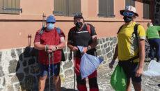 Die Wanderfreunde arbeiteten sich von der Seilbahn-Bergstation bergab vorwärts. Als sie am Fuße der Montaña Blanca ankamen, waren ihre Müllbeutel alle voll. Fotos:FIMT