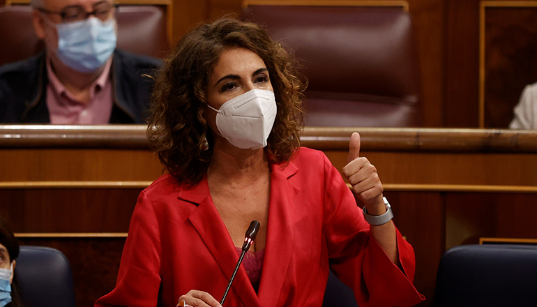 María Jesús Montero Foto EFE