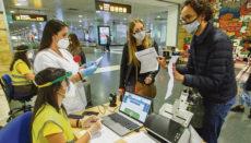 Die 3G-Regel entfällt für Passagiere, die vom spanischen Festland oder den Balearen einreisen. Foto: GobCan