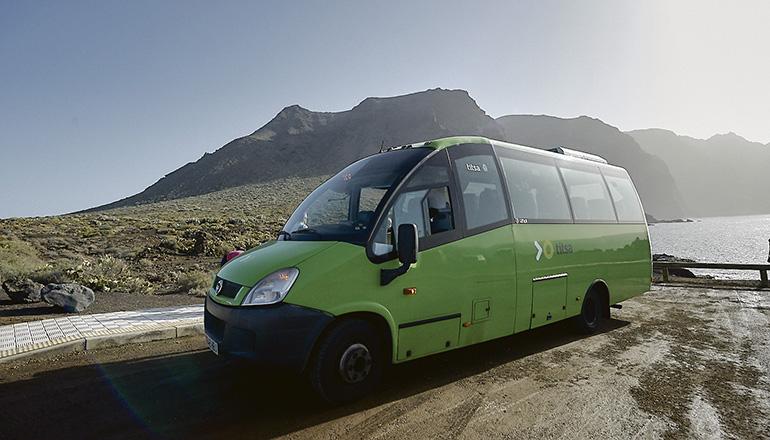 Teno Bus. Foto Titsa