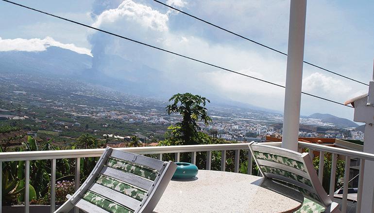 Der Vulkanausbruch hat schon jetzt das Leben vieler Einwohner La Palmas für immer verändert. Foto: EFE